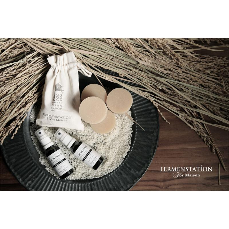 -Fermenstation For Maison- お米でできた消臭スプレー・コメッシュ・奥州サボン