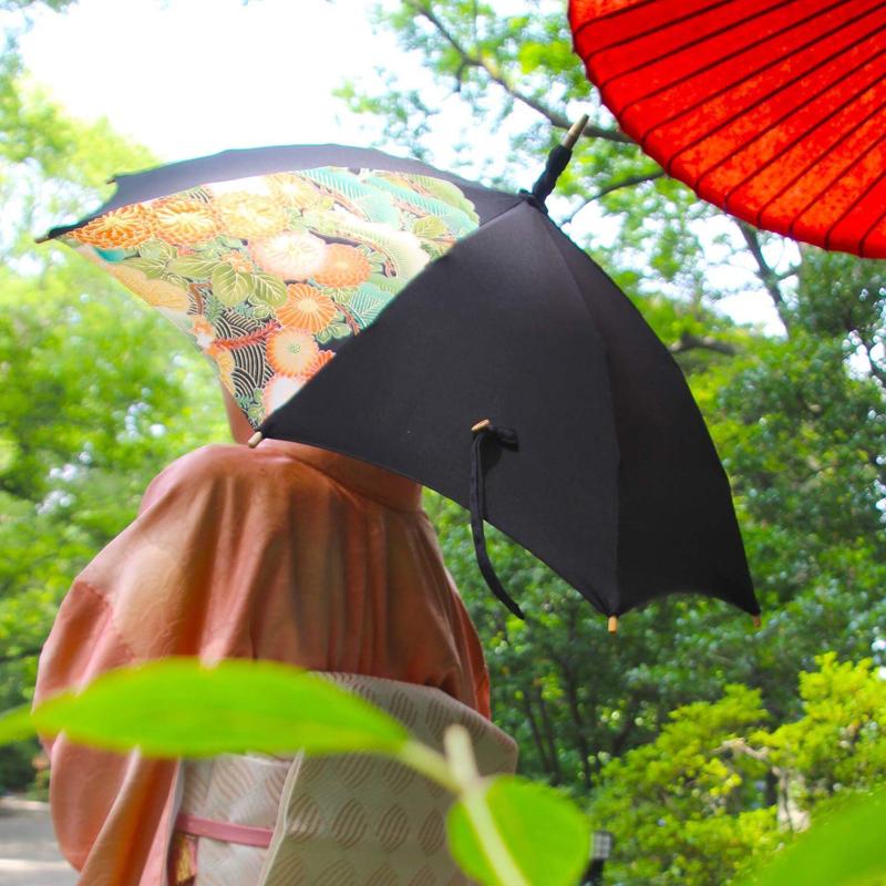 あきざくらの日傘