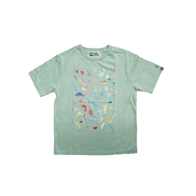 オーガビッツ(ORGABITS AKI プリント Tシャツ)