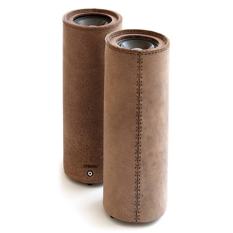 【国内部門】LOG – more trees LEATHER Speaker –