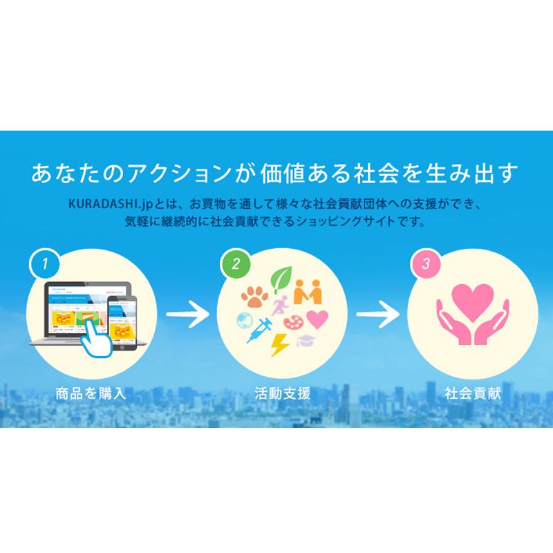 【国内部門】社会貢献型ショッピングサイト「KURADASHI.jp」