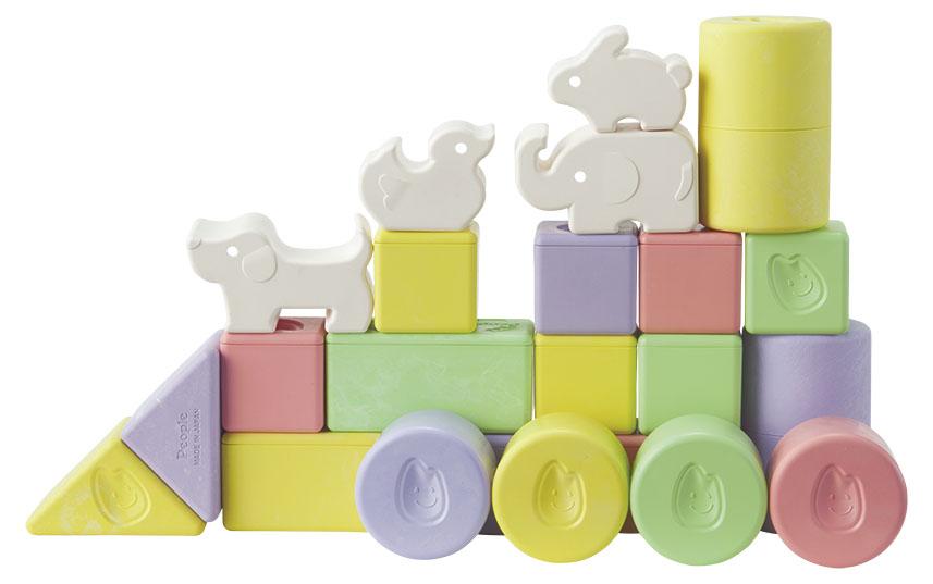 【自由テーマ】お米の国のお米のバイオマスプラスチックを使用した「純国産 お米のおもちゃ」