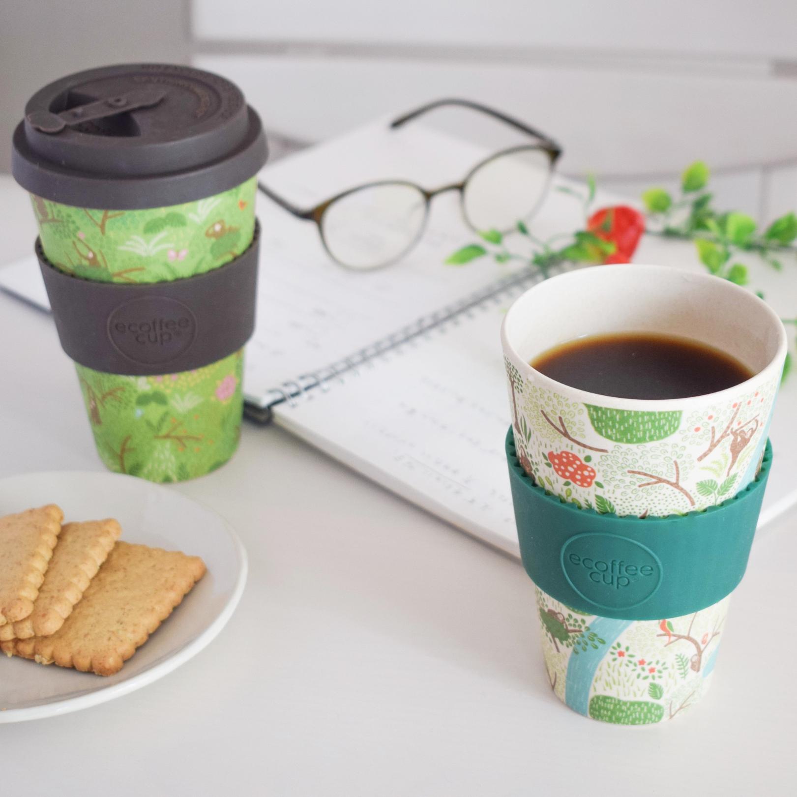 【自由テーマ】世界初、オランウータンを守るオリジナルエコーヒーカップ