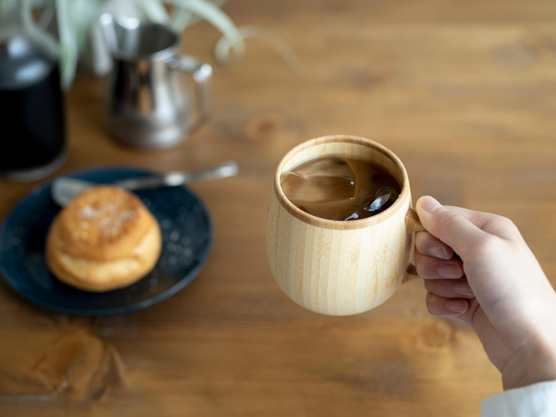 【自由テーマ】RIVERET カフェオレマグ