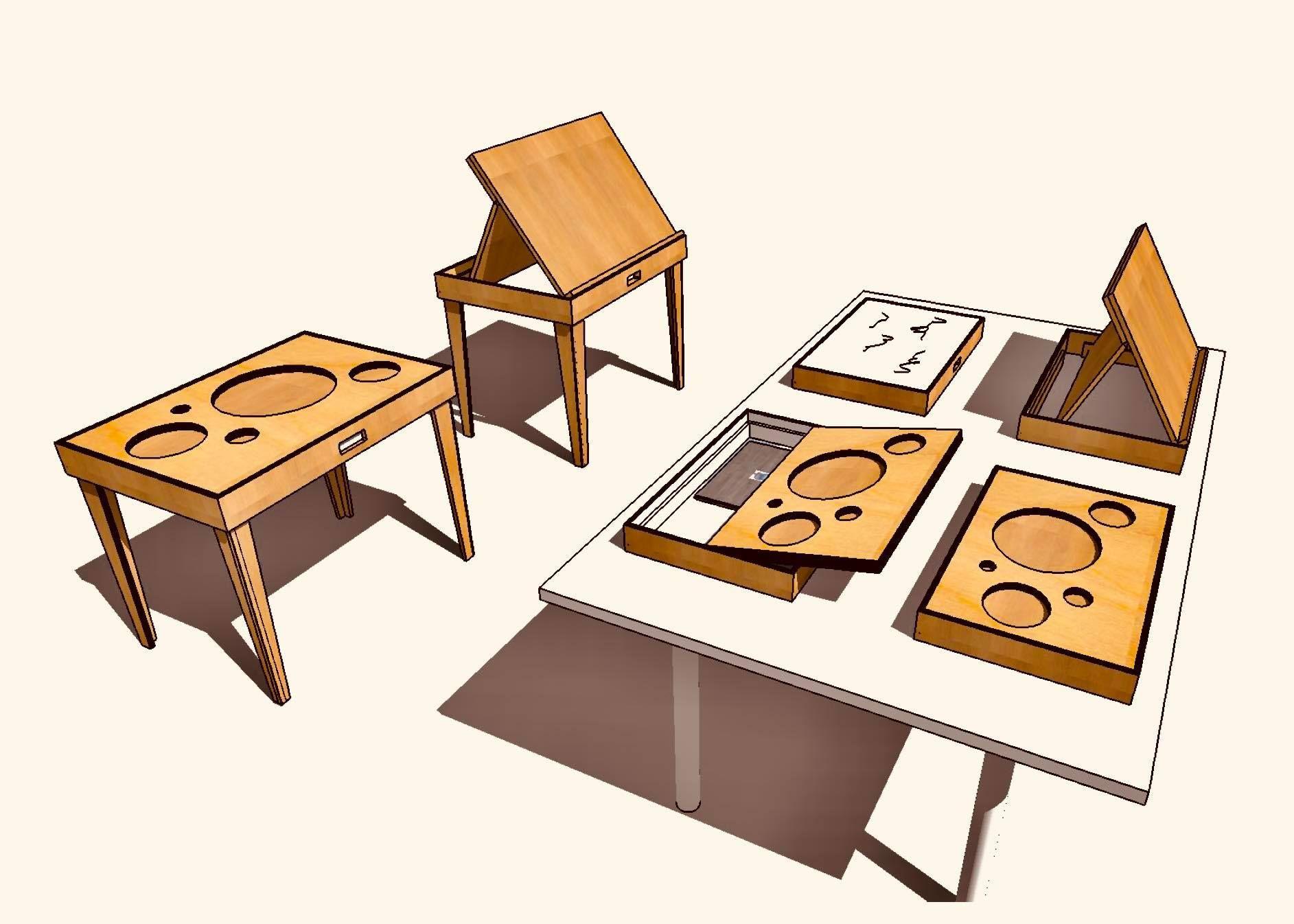 【年度テーマ】obon table / Table for the Blind by the Blind
