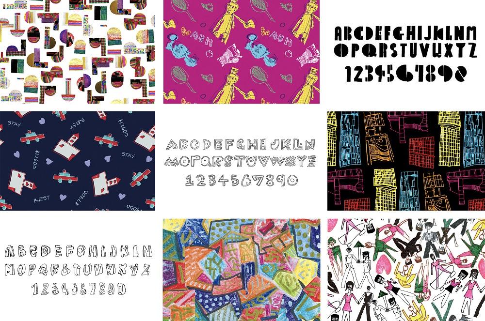 12167【年度テーマ】障がい者理解に向けたソーシャルアクション 障がいのある人が描く文字や絵柄をフォント・パターン化したパブリックデータ「シブヤフォント」