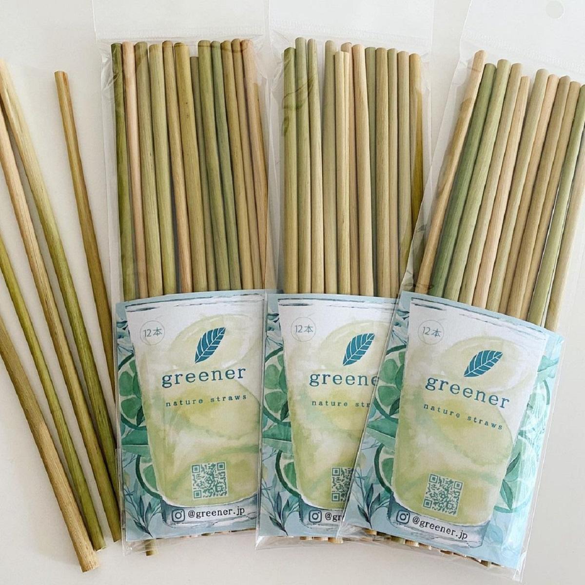 12080【自由テーマ】greener nature straws(グリーナー ネイチャーストロー)