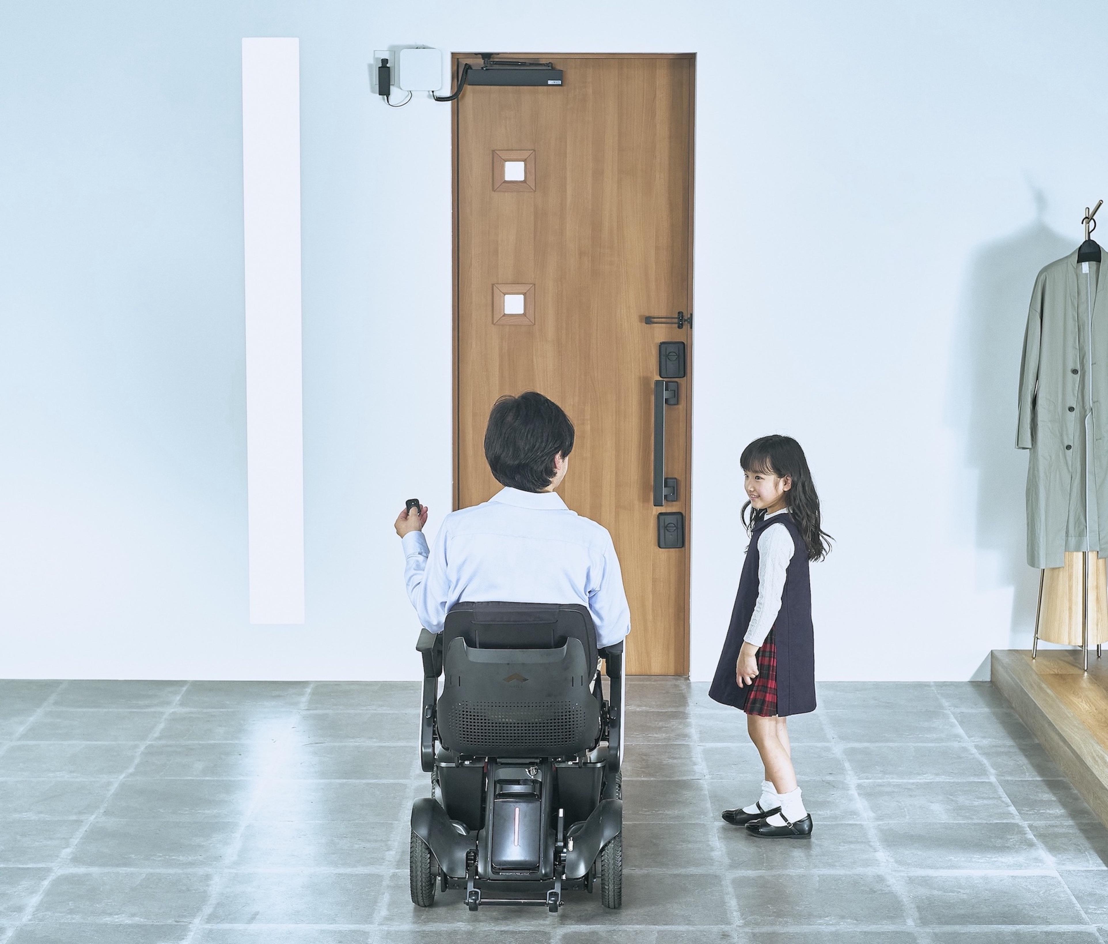 12171【年度テーマ】玄関ドア用電動オープナーシステム DOAC(ドアック)