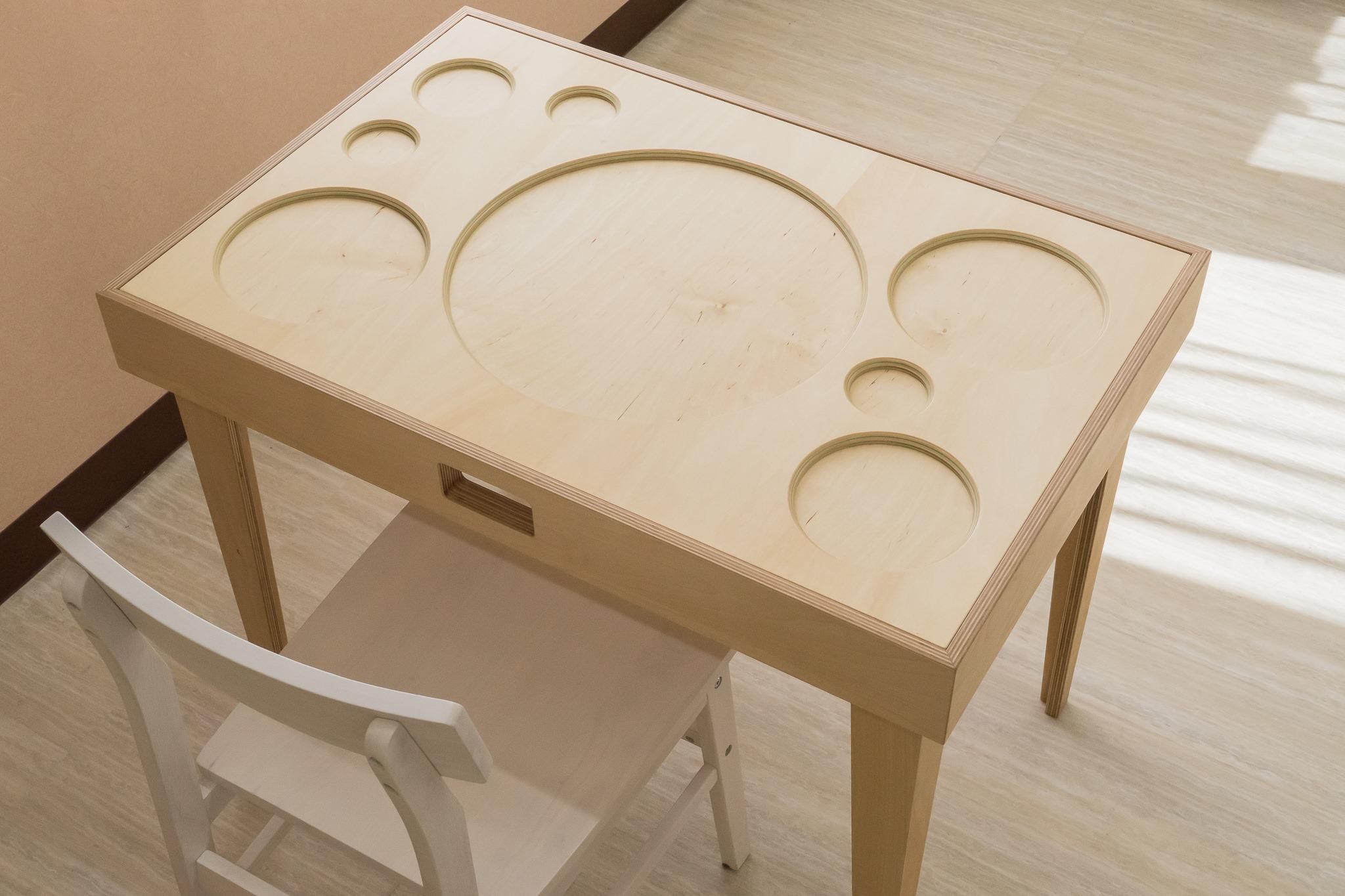 12150【年度テーマ】obon table / Table for the Blind by the Blind